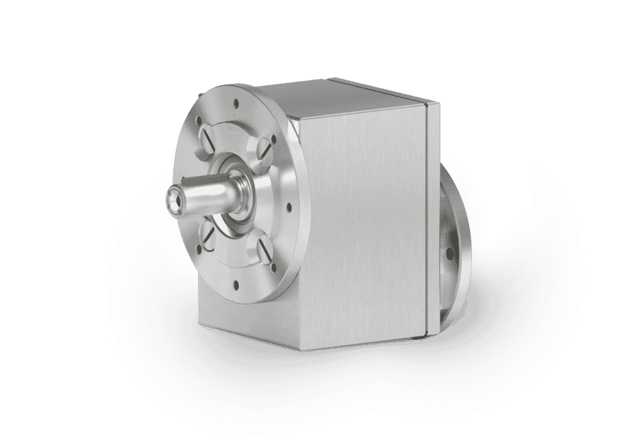 L Series Shielded Stainless Steel Helical Inline Gearboxes
