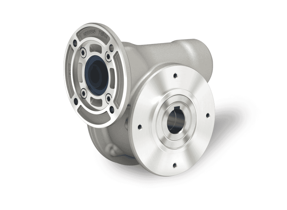 Z Series NTT Treated Aluminium Worm Gearboxes