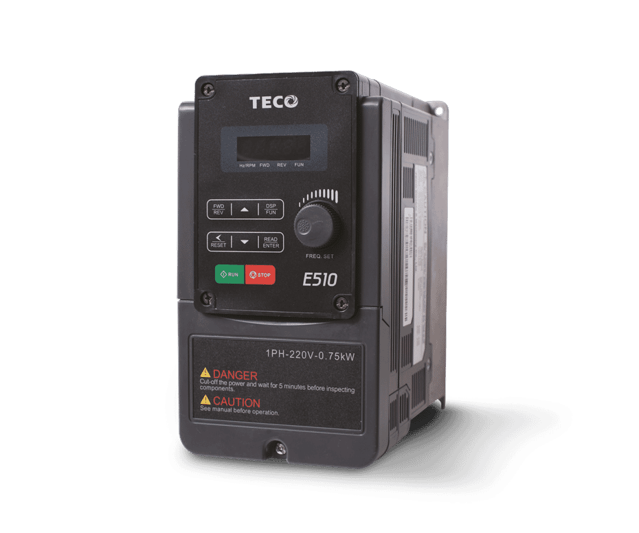 E510 Sensorless Vector Variable Speed Drive